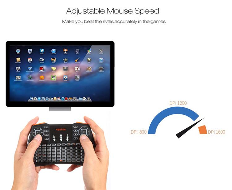 2019 I8 plus 2.4g Wireless Mini Keyboard Keys Gaming Keyboard I8 Air Mouse Touchpad remote control