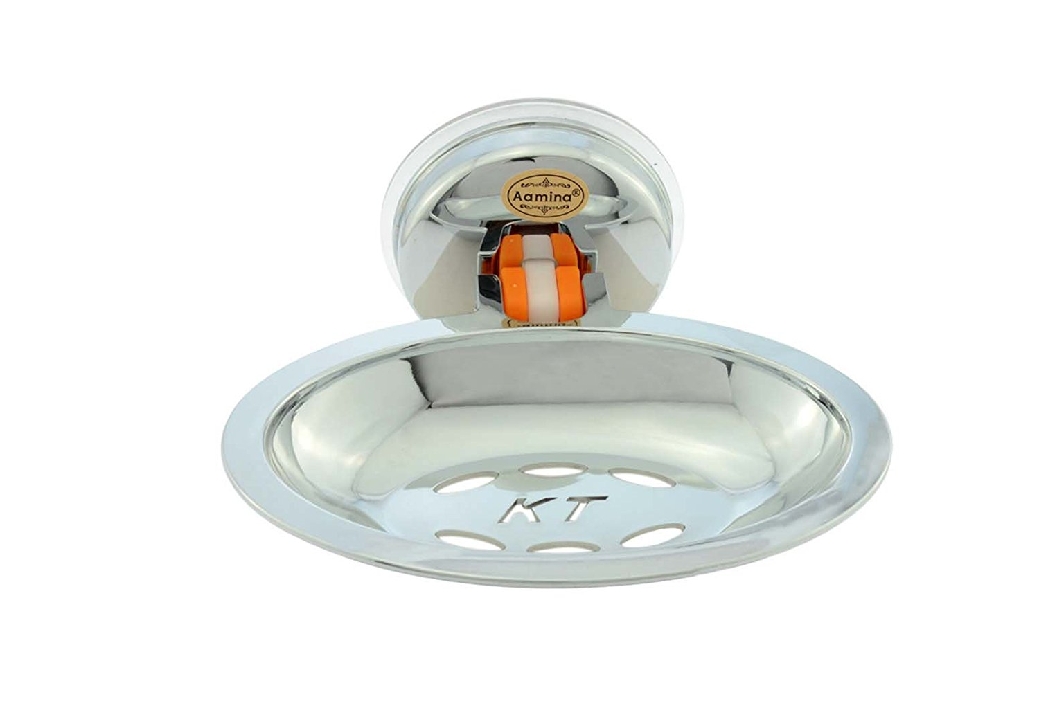 Aamina Creative Sucking Disc Of Wall Mounted Soap Dishes For Bathroom Or Kitchen