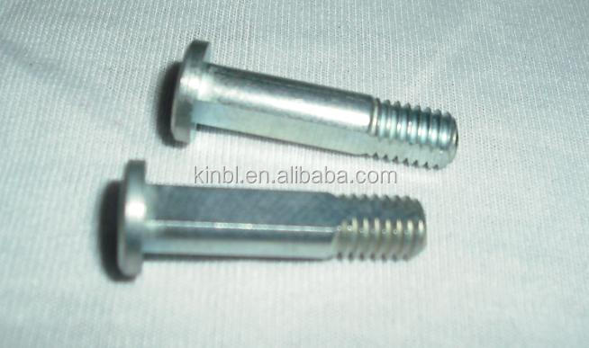 special screw and bolt with zinc plated