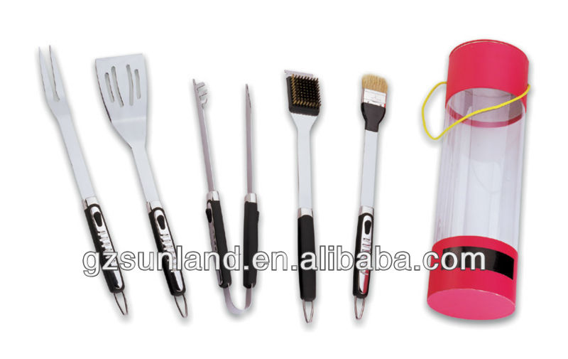 5 unids barbacoa herramientas SET/parrilla/barbacoa Kit