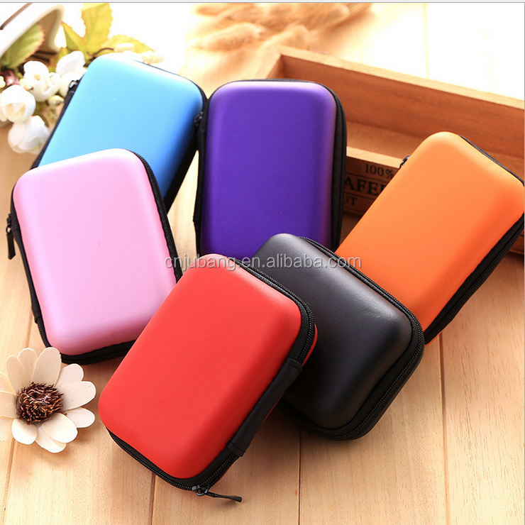 High quality Travel Cable Organizer Storage Bag / earphone storage bag / coin organizer
