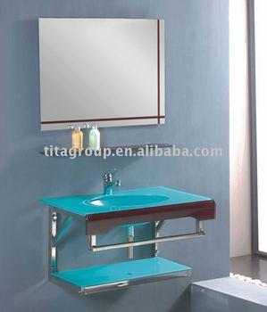 Bagno In Vetro Colorato Lavabo Tg5357 - Buy Product on Alibaba.com