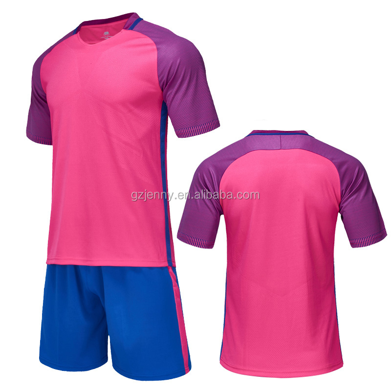 Commercio all'ingrosso di Estate Sportwear Sublimazione Jersey di Calcio di Calcio Tute