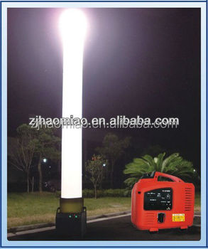 Inflatable Light Tower High Bright Balloon Light Tower