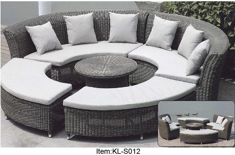 round lounge sofa promotion online shopping for. Black Bedroom Furniture Sets. Home Design Ideas