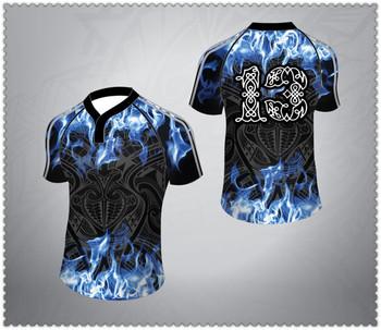 d587bef46 Sublimação impressão personalizada futebol rugby jerseys   desgaste    uniforme   camisa