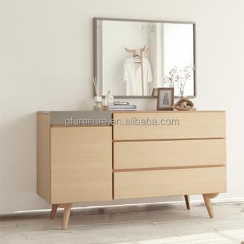 Wooden Bedroom Wardrobe Doors/low Wardrobe/1 Door Wardrobe/3 Dawers ...