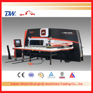 Famous top sell brand 'JFY' CNC turret punching machine