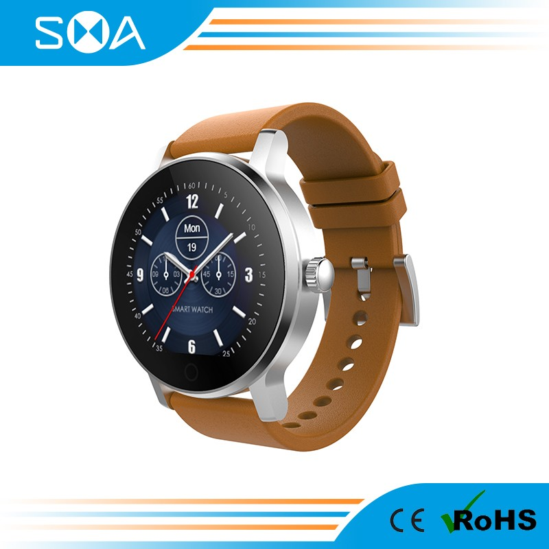 SMA mens watch band for mens watch with heart rate monitor K88H/KW18/dz09 smart watch