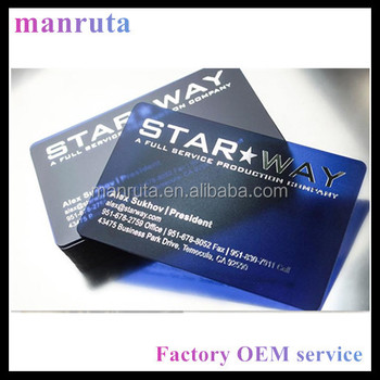 Manruta leading manufacture transparent business cards with colored manruta leading manufacture transparent business cards with colored frost small moq colourmoves