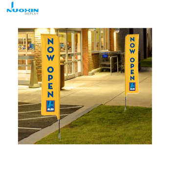 Custom Open House flags Outdoor Wind Flying Recatngle Banner Square J flag for Advertising