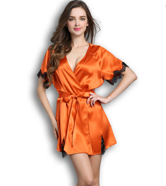 1dcb71ca3e Buy 100% Silk Nightgowns Women Sexy Lace Summer Sleepwear Smoothly Female  Silk Pajamas Nightwear in Cheap Price on m.alibaba.com
