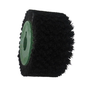 horse hair round cylinder roller brush for cleaning