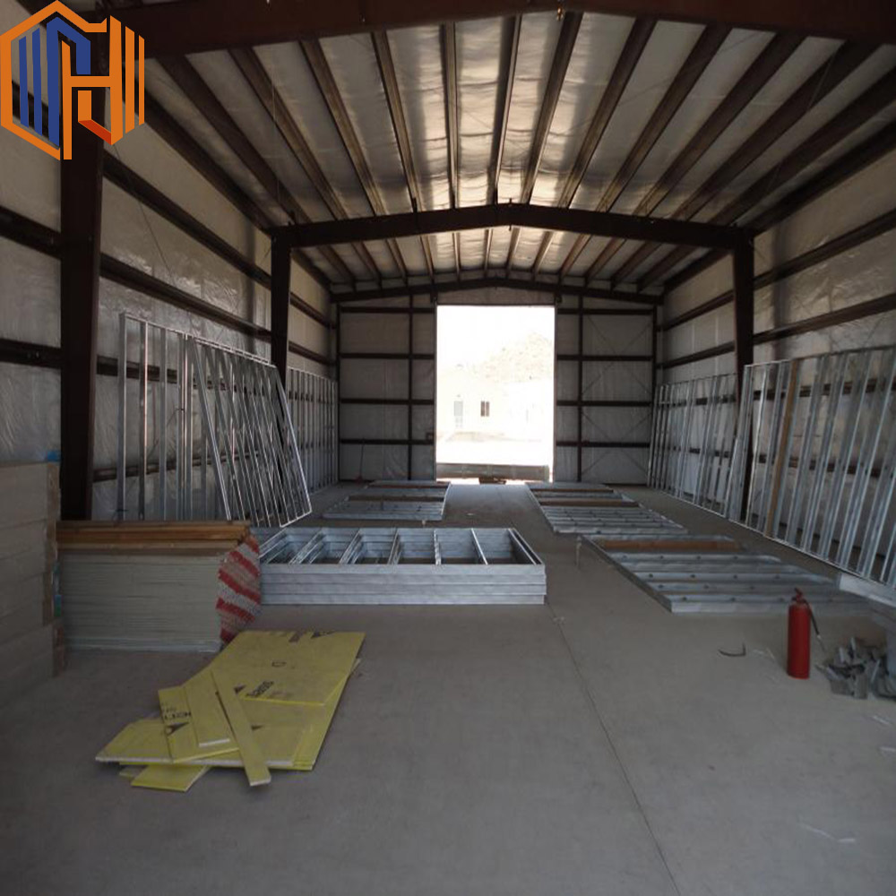 mini industrial shed / design steel structure warehouse construction