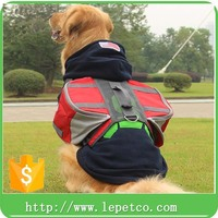 factory wholesale adjustable outdoor durable saddle bag pet carrier dog backpack