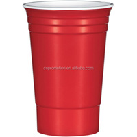 16oz Plastic Solo Red Cups For Party