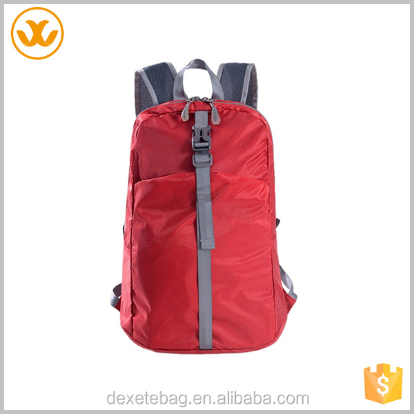 Teen sport wholesale customized wholesale oxford red youth backpack