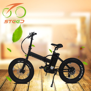 folding motorcycle -shaped bicycle electric with fat tire