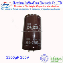 1500uF 250v Aluminum Eletronic Capacitors with electronic typewriter