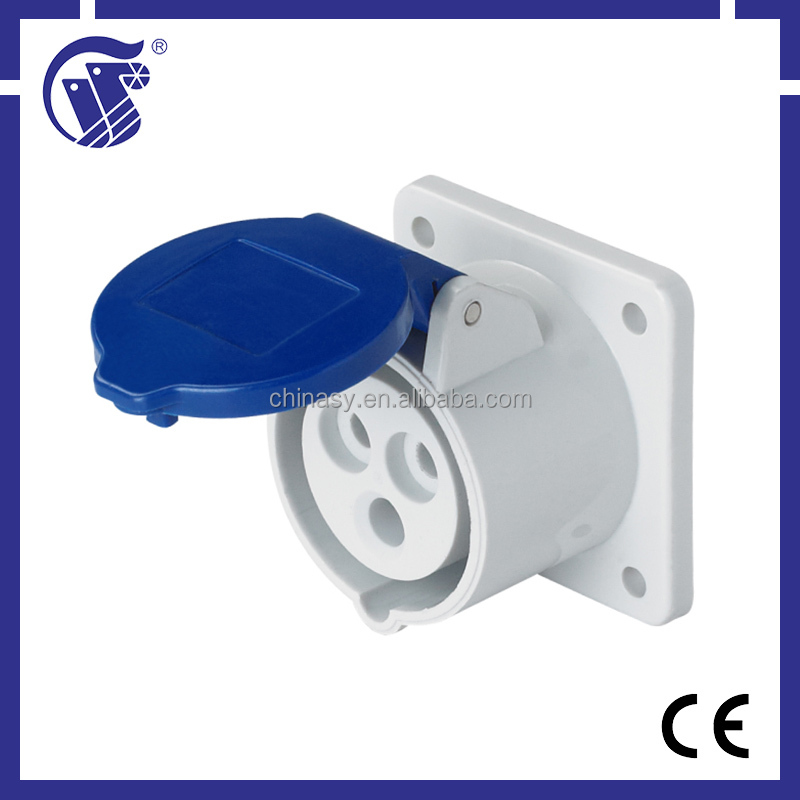 hot sale CE approved 3P+N+E IP44 plug socket cover