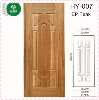 Minimalist Modern Melmine Mould Wood Exterior Door From Huiyuan Wood Door  Factory