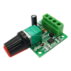 1.8V 3V 5V 6V 12V 2A DC 2A Ultra Low Voltage DC Motor Speed Switch Controller PWM Self-recovery Fuse DC Motor Control,Compatible