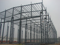 High quality turnkey construction design steel structure workshop warehouse building design, manufacture and installation