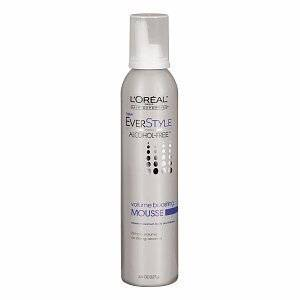 L'Oreal Everstyle Volume Boostng Mousse 8 oz. (Pack of 6)