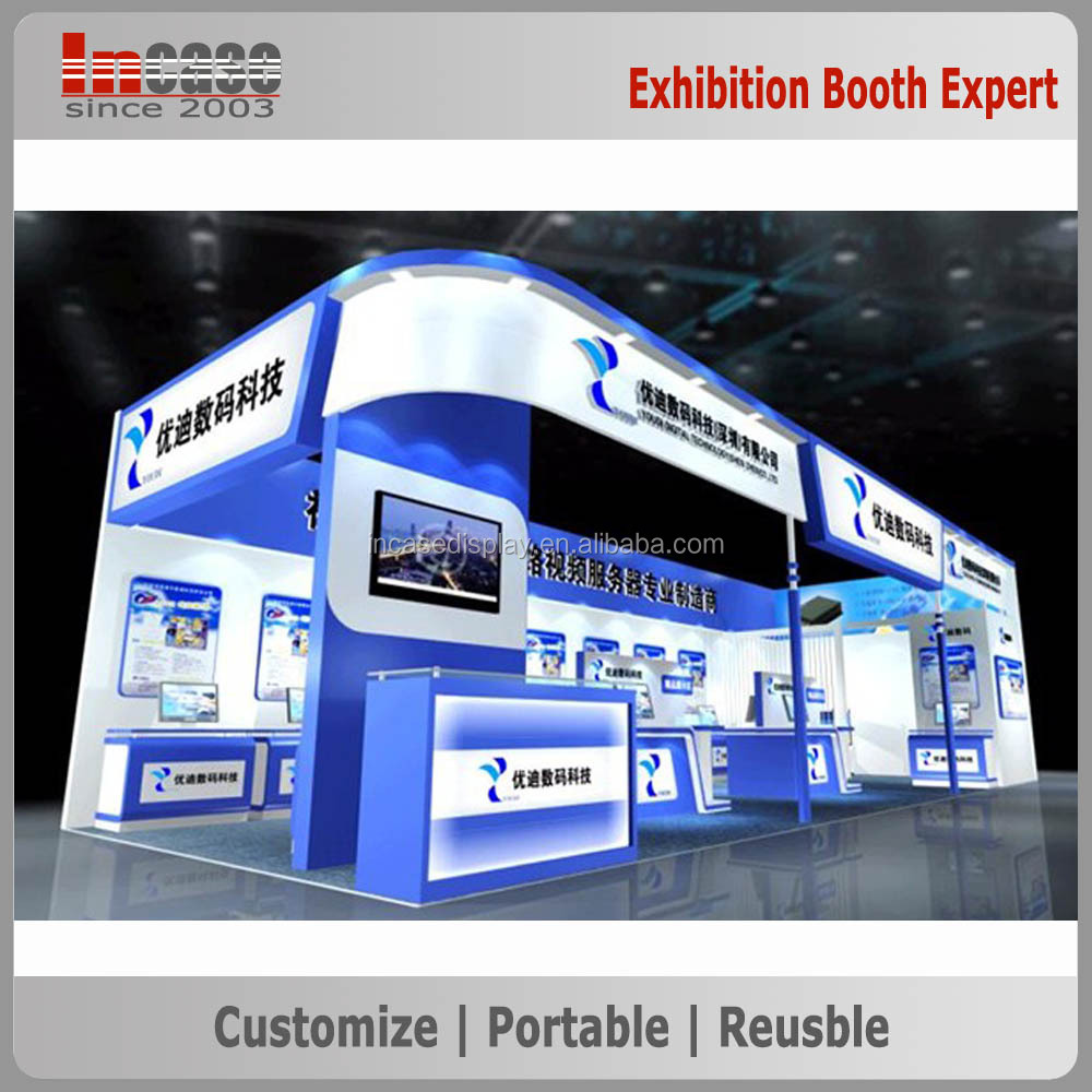 Exhibition Booth En Espanol : Stand de exposición del sistema modular estándar