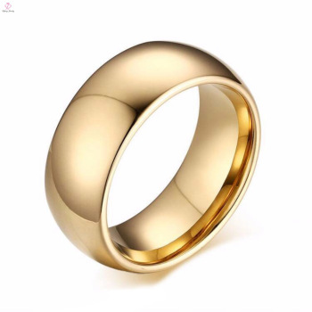 Wedding Blank Design Simple Plain Gold Tungsten Bands Ring Buy