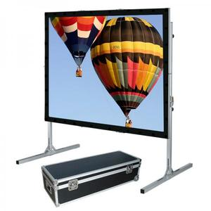 projector fast fold 16:9 200 inch large outdoor Fast folding projection screen portable projector screen