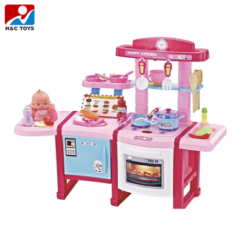 Multifunctional Cooking Tools Toy Plastic Kids Kitchen Set Hc393655