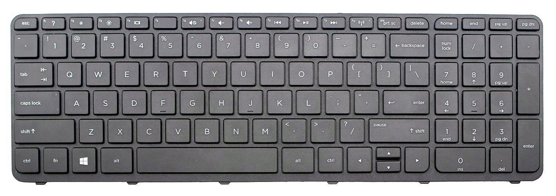 US Keyboard with Frame For HP 15-n060ca 15-n060nr 15-n064nr 15-n065nr 15-n066us