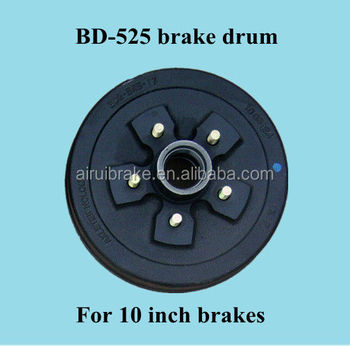 Bd-545 Rv Brake Drum For 10 Inch Caravan Brakes L68149 L44649 ...