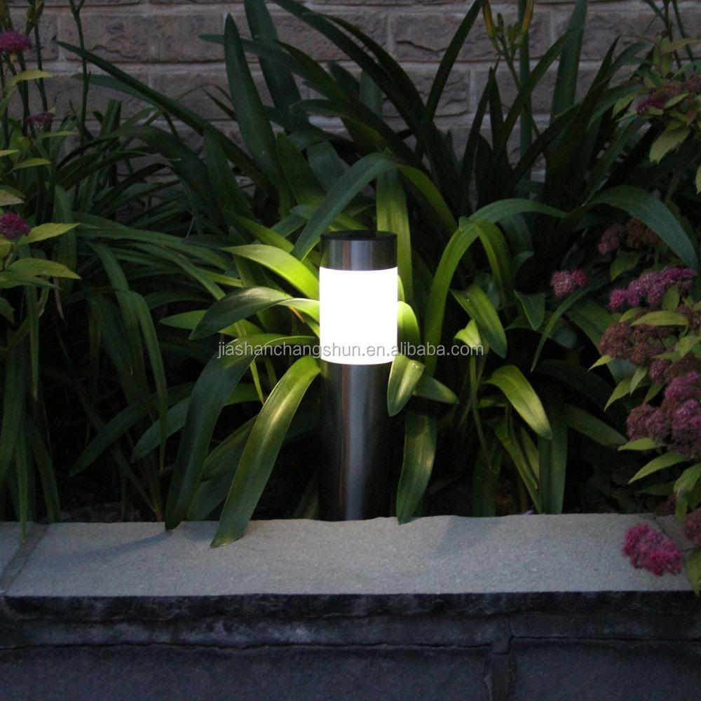 IP44 solar power garden light for pathway lighting