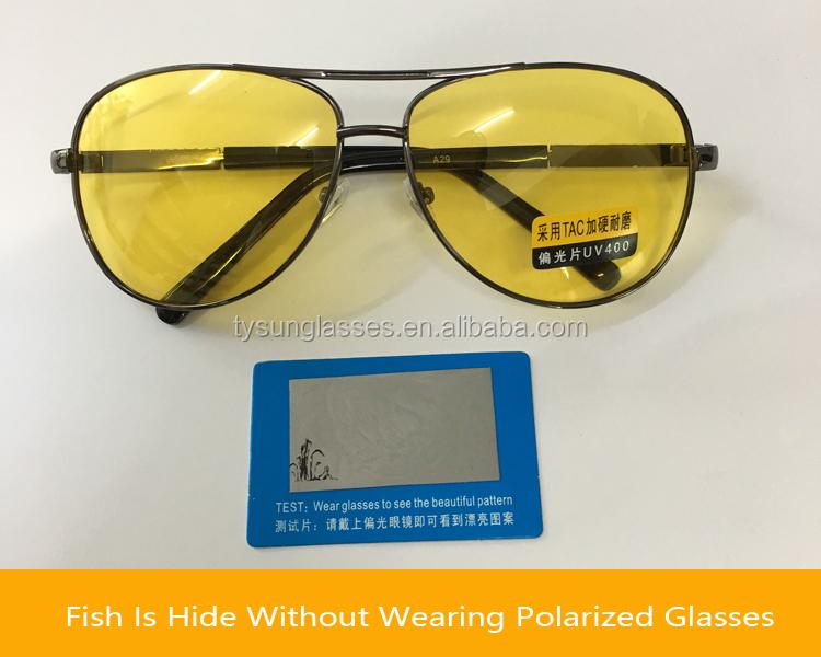 8243d7586ff Yellow Polarized Sunglasses Men Women Night Vision Goggles Driving Glasses  Driver Aviation Sun Glasses UV400