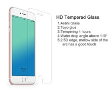 Tempered glass for iphone 6 with anti blue ray factory price per square foot