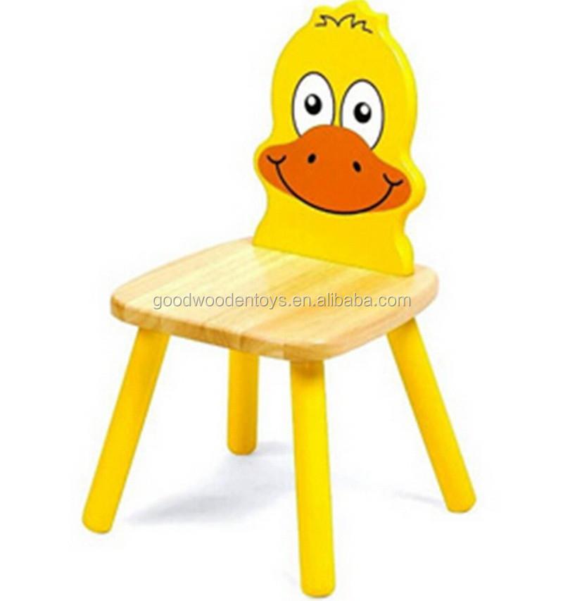 Elegant New Arrival Kindergarten Furniture Wood Preschool Kids Baby Cartoon Table  And Chairs Kids Animal Chairs