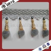 Nice Brush And Beads Tassel Curtain Tassel Fringe,Trims For ...