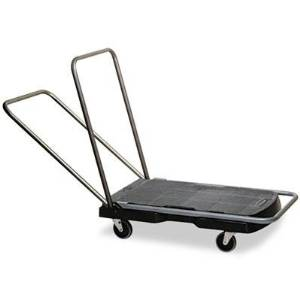 "Rubbermaid Commercial - Utility-Duty Home/Office Cart 250 Lb Capacity 20-1/2"" X 32-1/2"" Platform Bk ""Product Category: Breakroom And Janitorial/Utility Carts"""