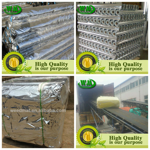 Metalic Foil Bubble Thermal Insulation Material For Foil