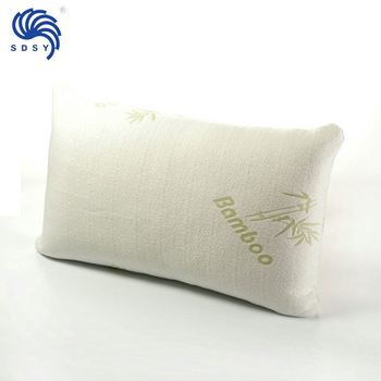 Top Quality Good Price shredded memory foam bamboo pillow