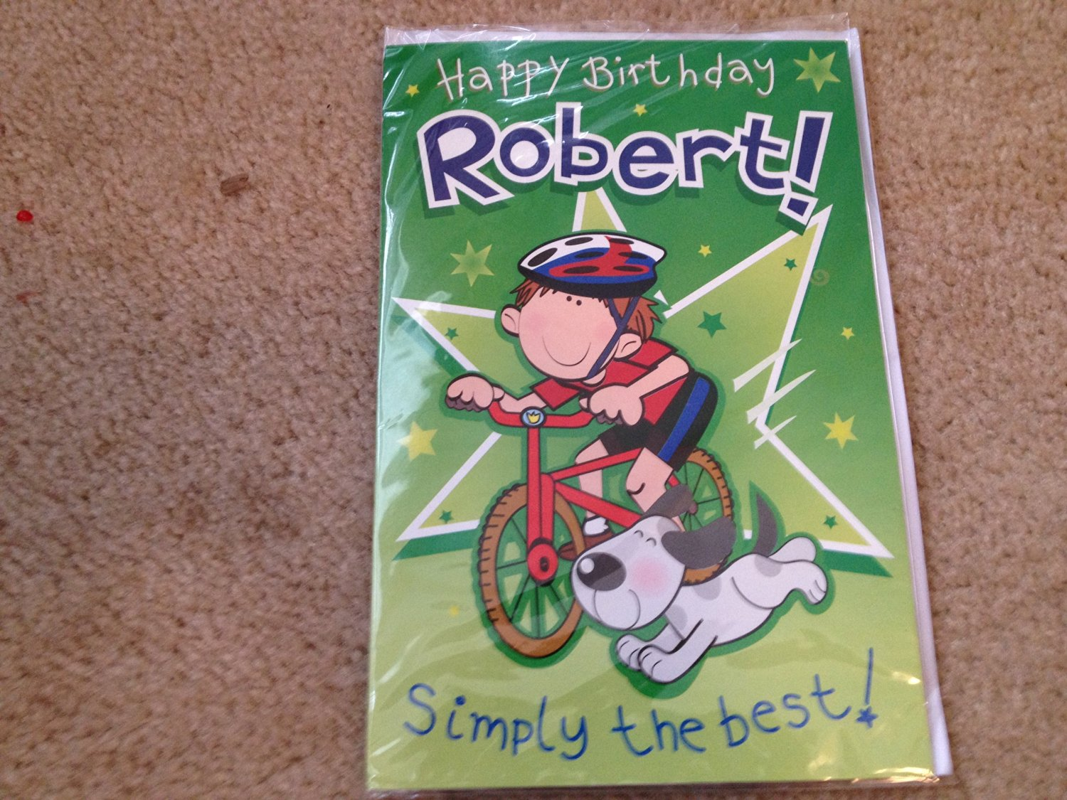 Happy Birthday Robert - Singing Birthday Card