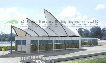 Fabric Tensile Membrane Structure Canopy Ptfe Etfe Buy