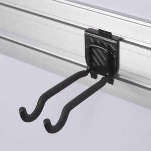 Black resist rusting chipping cracking indoor vertical wall mount bike rack for mountain road bicycle