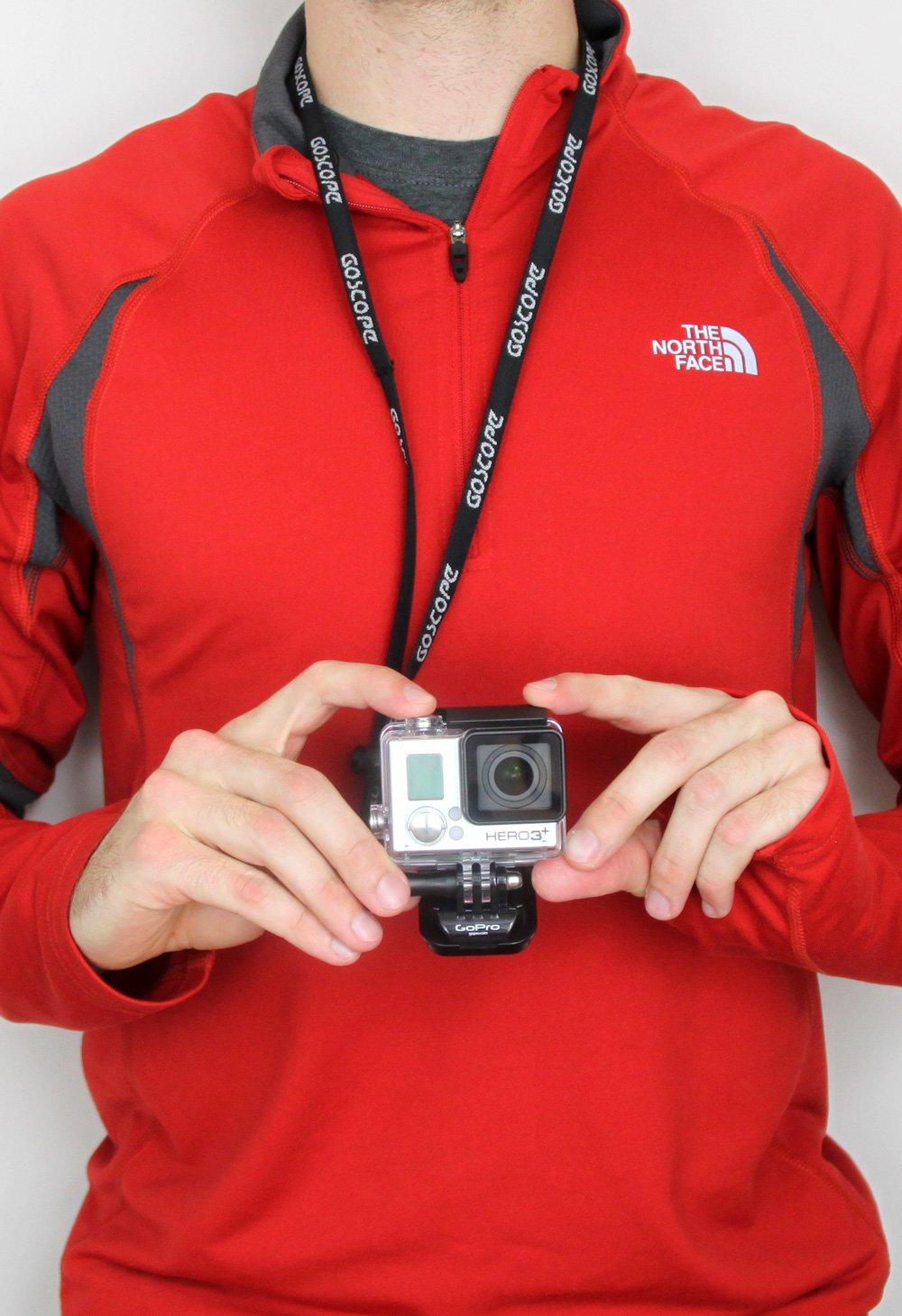 GoScope Neck Strap - Lanyard for GoPro Cameras