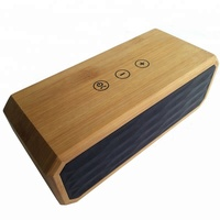 touch control Mini wooden wireless automatic sensing wireless speaker mutual inductance sensing sound bluetooths speakers