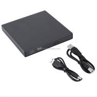 USB 2.0 External Optical Drive Combo CD RW Burner DVD ROM Portatil Writer Recorder Player for Laptop