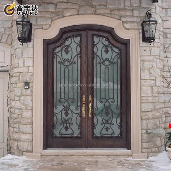 Latest design wooden color entry front door buy latest for Order front door