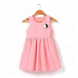 2019 New little kids' Girls' lace dress Princess Party dress